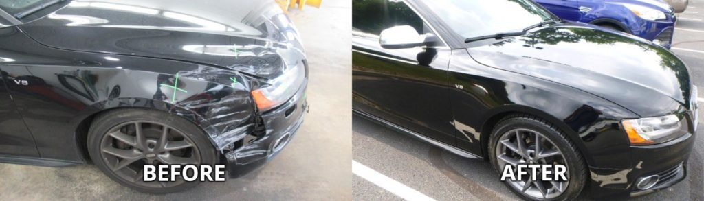 Dent Removal in Pittsburgh, East Liberty, Oakland PA, Squirrel Hill