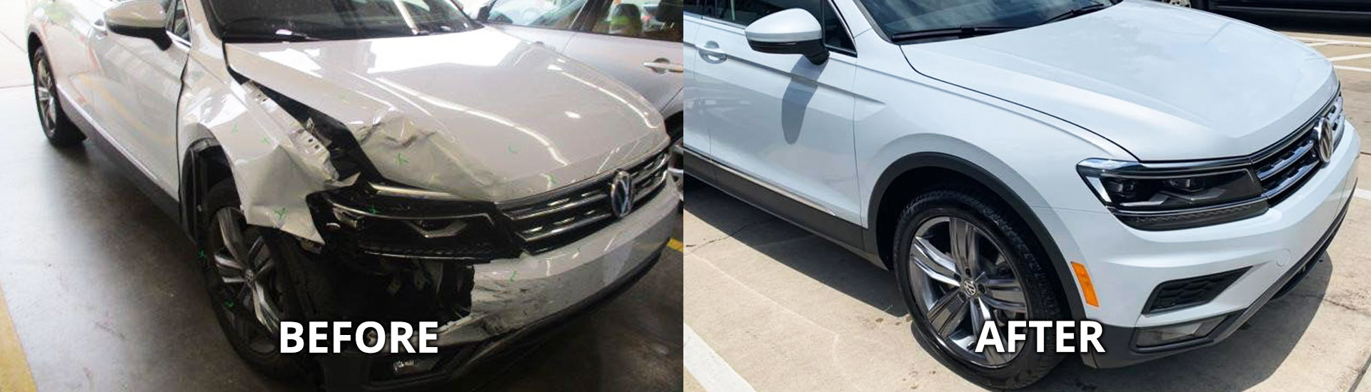 Collision Center in Fox Chapel, Before and After