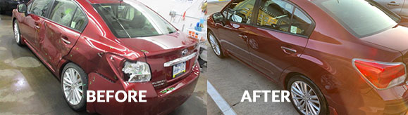 Dent Removal in Pittsburgh, Squirrel Hill, Wilkinsburg, East Liberty